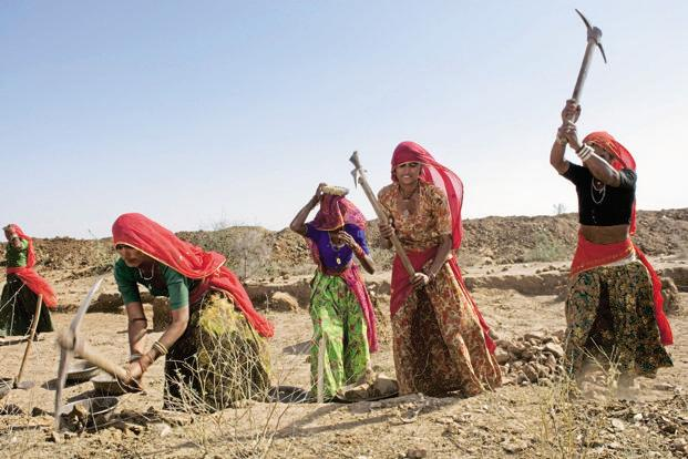 Nearly all women had moving stories on how they got access to formal credit and government schemes such as MGNREGA. Photo: Priyanka Parashar/Mint