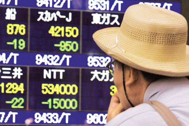 Nikkei has lost 1.8% on the week, its fifth straight weekly loss. Photo: Reuters