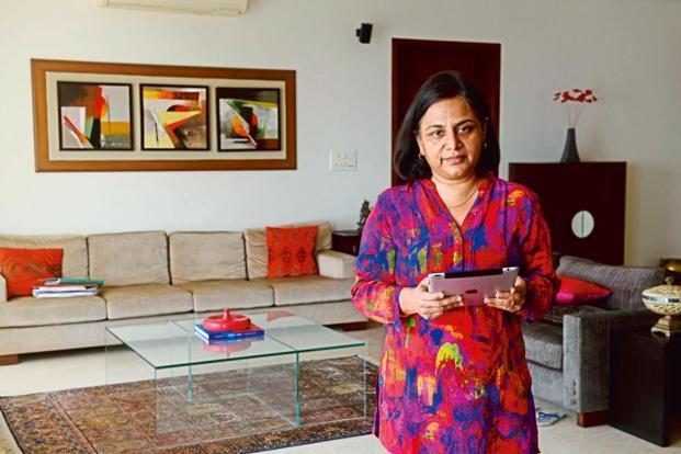 Sangeeta Purushottam admits that the first few years after childbirth involved a tightrope walk. Photo: Abhijit Bhatlekar/Mint