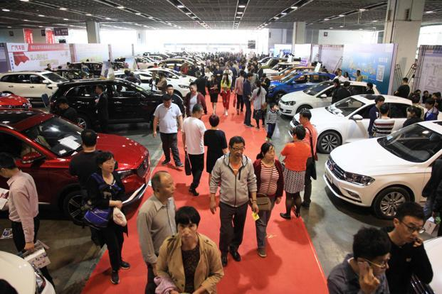 Shanghai Auto Show Global Carmakers Converge On China As Rare - Ramp ford car show