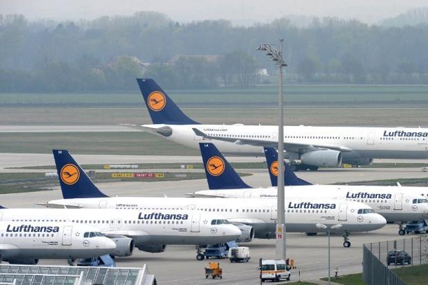 Lufthansa flies A350-900 to Mumbai
