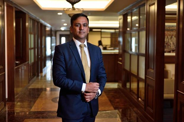Lightsource Renewable Energy's India head Rupesh Agarwal. Photo: Pradeep Gaur/Mint