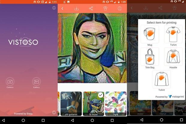 The major point of difference between Vistoso and Prisma is filters. It has  a unique library of filters and many of them are not available on Prisma.