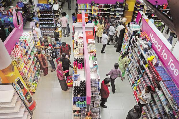 A shortage of cash hit purchases of soaps to cars after Prime Minister Narendra Modi in November demonetised high-value currency bills, driving shoppers to large-format stores like Kishore Biyani's Future Retail that accept credit cards. Photo: Indranil Bhoumik/Mint