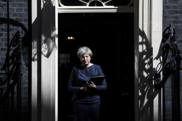 British PM Theresa May on Tuesday called for early UK elections on 8 June to strengthen the United Kingdom's Brexit move. Photo: Reuters