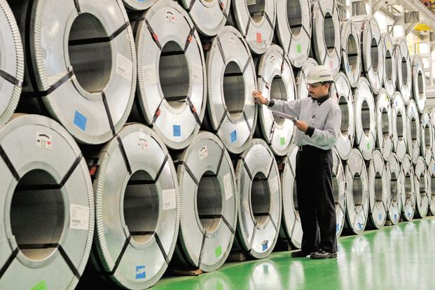 Steel production in India will surpass Japan by the end of the year. Photo: Abhijit Bhatlekar/Mint