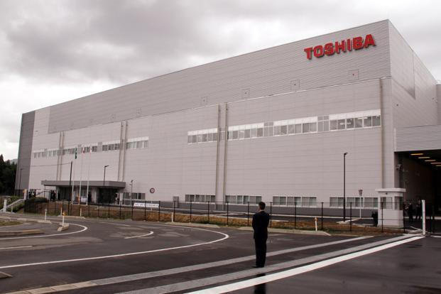 Toshiba and Western Digital are joint owners of certain chip business facilities. Photo: Bloomberg