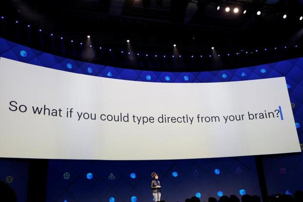 Regina Dugan, vice-president of engineering of Building 8 at Facebook, during the second day of the annual Facebook F8 developers conference in San Jose, California. Photo: Reuters
