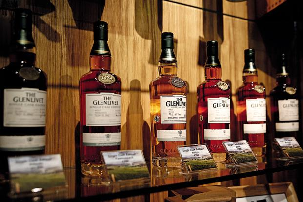 Pernod, which sells brands such as Blender's Pride and Chivas Regal in India, reported global nine months to March sales growth of 4%. Photo: Bloomberg