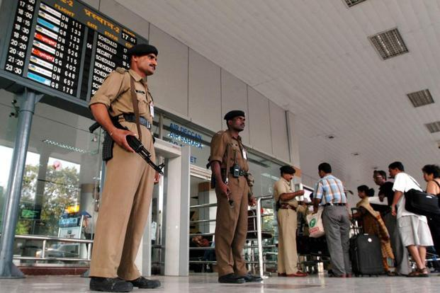 The hoax email claiming a possible plane hijack forced security forces to put on high alert the airports at Mumbai, Hyderabad and Chennai. Photo: AP