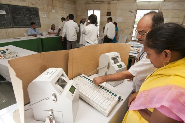 VVPT is linked to the electronic voting machine which allows an elector to confirm whether the EVM has properly registered his vote. Photo: Mint