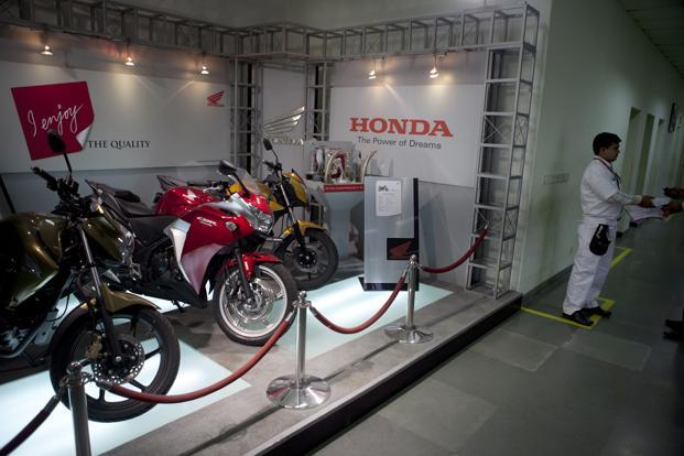 Honda Motorcycle and Scooter India is planning to invest Rs1,000 crore this year to launch new bikes and enhance capacity. Photo: Bloomberg