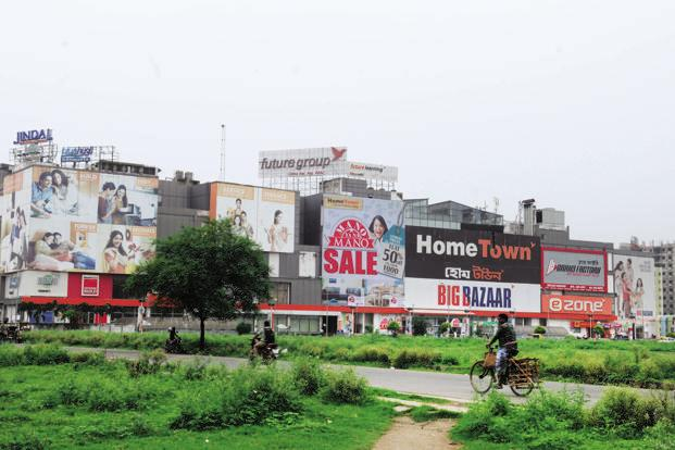 The existing network of Future Retail includes small-format EasyDay stores and large-format Big Bazaar stores, along with apparel chain fbb, Foodhall, electronics store eZone and furniture and home decor chain HomeTown. Photo: Indranil Bhoumik/Mint