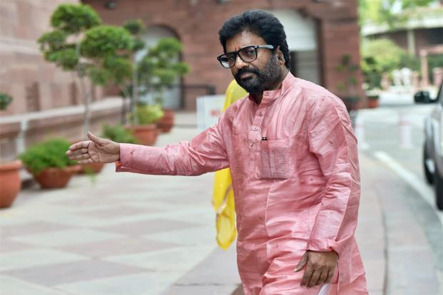 The flying restriction on Ravindra Gaikwad had been lifted after he gave an undertaking that such incidents would not occur again. Photo: PTI