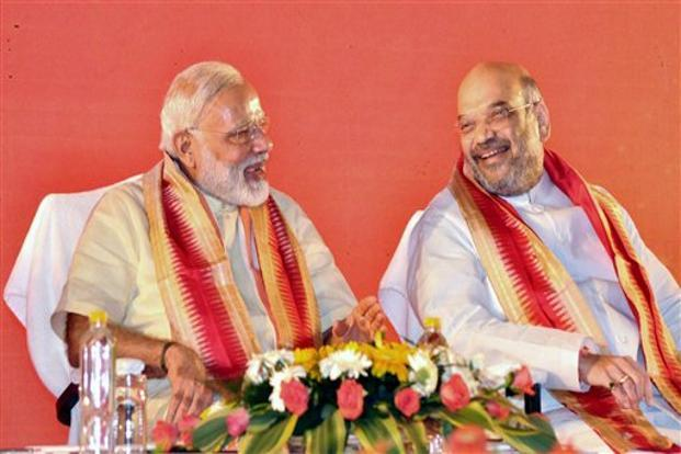 Apart from Amit Shah, the CMs are also scheduled to meet Prime Minister Narendra Modi. Photo: PTI