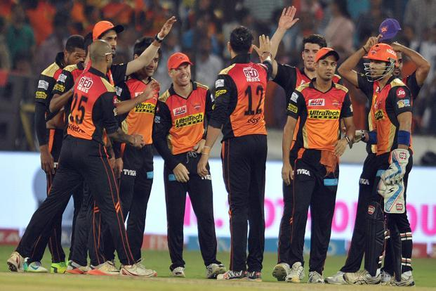 The match between Sunrisers Hyderabad and Mumbai Indians played on 12 April recorded highest viewership of 29.5 million impressions, followed by the match played on 9 April between Kolkata Knight Riders and Mumbai Indians. Photo: AFP