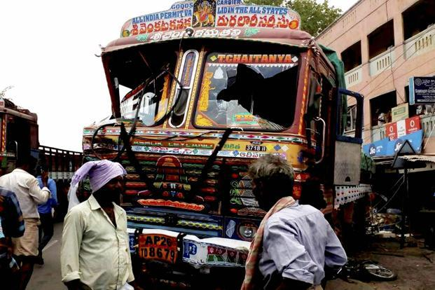 A police officer from Chittoor said as per the preliminary information, at least 20 persons were run over by the wayward truck. Photo: PTI