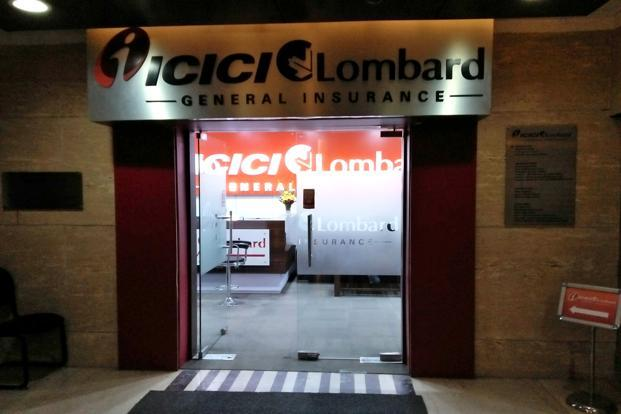 ICICI Lombard's gross domestic premium income rose by 32.6% to Rs 10,725.90 crore. Photo: Mint