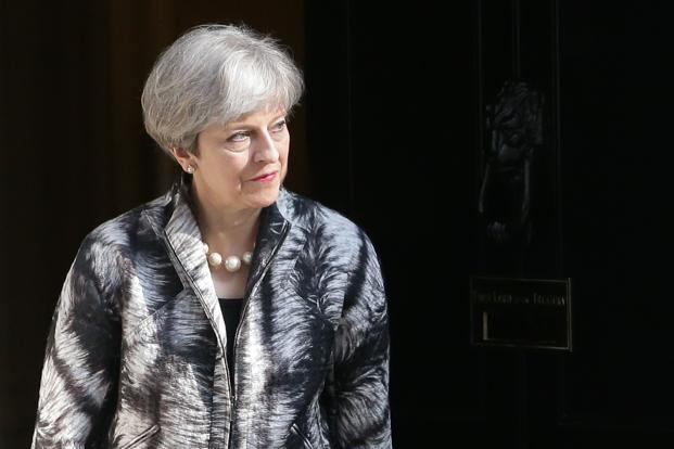 "Theresa May called for snap polls in a surprise move on Tuesday, saying it was necessary to boost her majority and provide stability as Britain gears up for two years of ""Brexit"" negotiations. Photo: AFP"