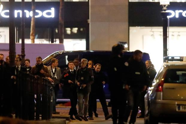 French government is treating Paris shooting at Champs Elysees as a terrorist attack. Photo: Reuters