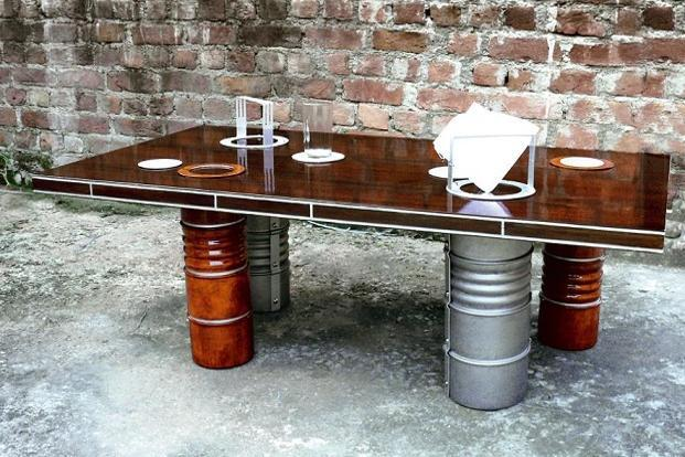 Dabbawalla coffee table.