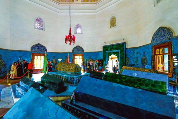 The interiors of the Green Mosque. Photo: iStockphoto