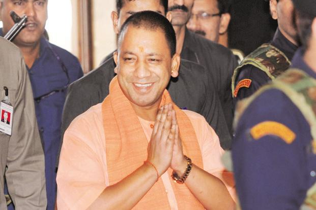 UP chief minister yogi Adityanath has said that law and order was his government's top priority. Photo: HT