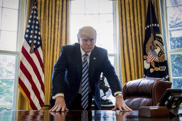 Donald Trump at 100 days: 'It's a different kind of presidency'
