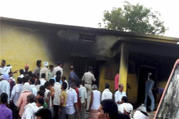14 killed when fire engulfs a PDS shop at Chhindwara in Madhya Pradesh