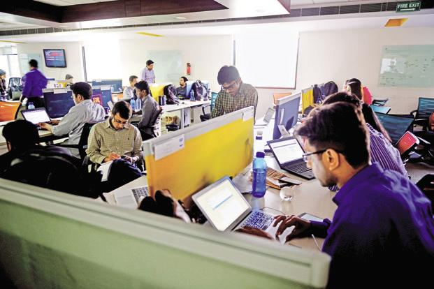 The survey conducted by jobs firm ManpowerGroup's Experis IT reveals employers are increasingly hiring on demand, including on contract, and re-skilling internal staff to cater to complex and niche roles. Photo: Pradeep Gaur/Mint