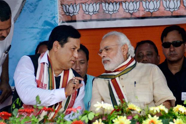 Prime Minister Narendra Modi will inaugurate the bridge that will connect Assam and Arunachal Pradesh and is 9.15 kilometres long. Photo: PTI