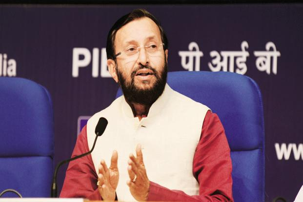 HRD minister Prakash Javadekar says the HRD ministry is in favour of third-party validation of all data provided by colleges and universities for evaluation and accreditation. Photo: Ramesh Pathania/Mint