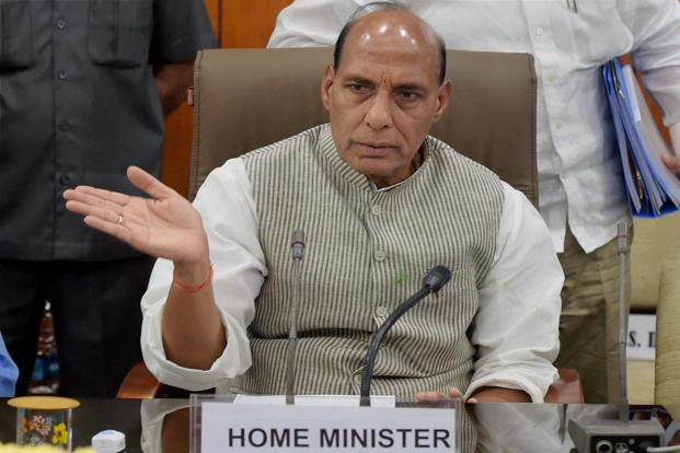 Home minister Rajnath Singh. Photo: PTI