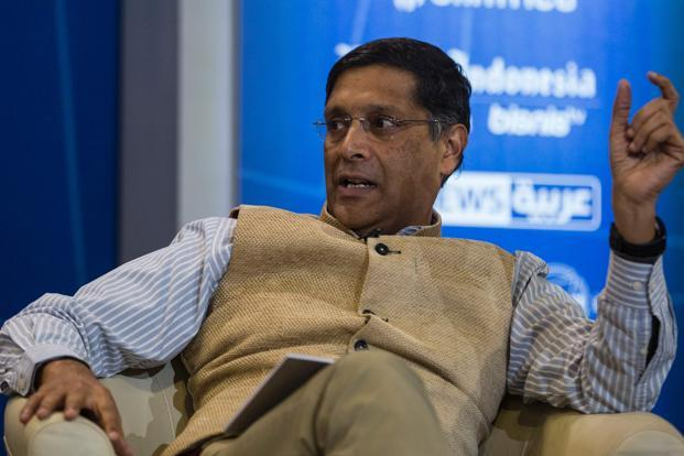 Chief economic advisor Arvind Subramanian majority of Indian exports in the services sector go to the US. Photo: AFP