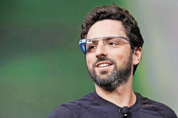 Larry Page has his flying cars. Sergey Brin (in photo) shall have an airship that he is building at Nasa Ames Research Centre. Photo: David Paul Morris/Bloomberg