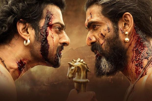 A sill from Baahubali 2. The film is releasing in around 6,000 screens across the country, surpassing by a wide margin big-ticket Bollywood offerings that take up a maximum of 4,500 cinemas.