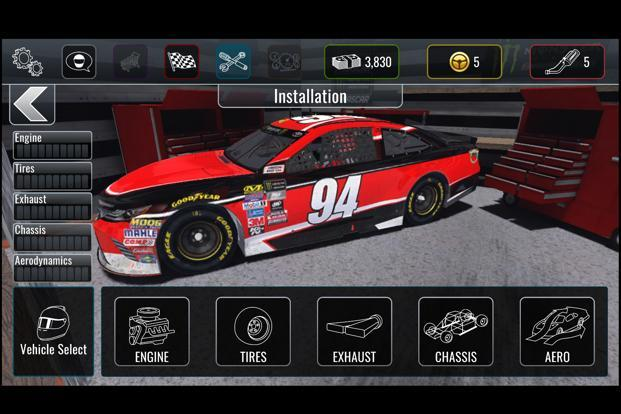 Android and iOS users can download NASCAR Heat Mobile for free right away.