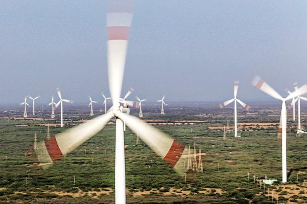 Several foreign wind turbine makers have increased their focus on India in the expectation that the market is set to expand further along with the broader use of auctions. Photo: Bloomberg