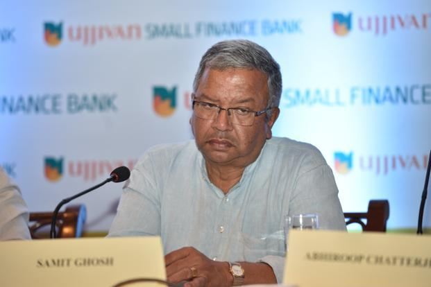 The unanticipated loss has forced Ujjivan to slow down the pace of transformation to a small finance bank from a microfinance firm, said CEO Samit Ghosh. Photo: Indranil Bhoumik/Mint