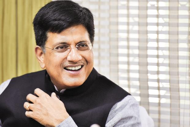 Union minister Piyush Goyal said the government will take the lead in facilitating electric vehicles becoming viable by providing low cost finance. Photo: Sanjeev Verma/HT