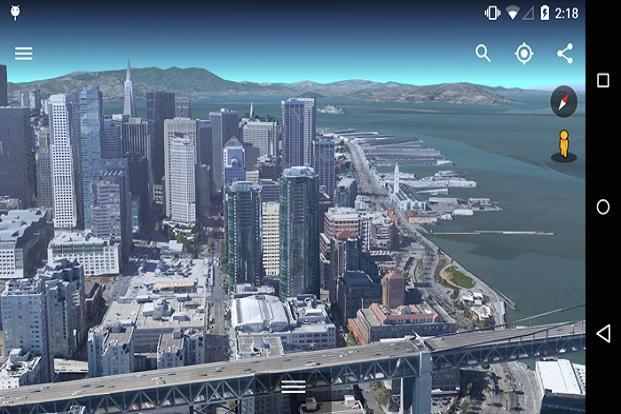 Google has added 3D maps for select locations. It provides a more detailed view of places compared to the regular satellite imagery.