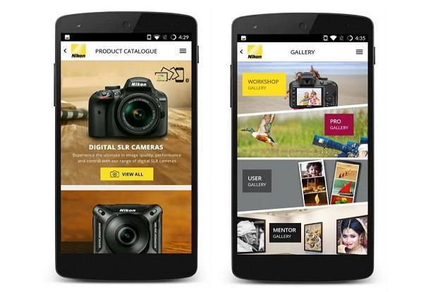 Nikon India app provides details of the latest Nikon cameras and their accessories.