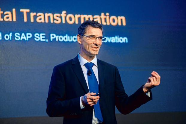 Bernd Leukert, member of the executive board at SAP SE.