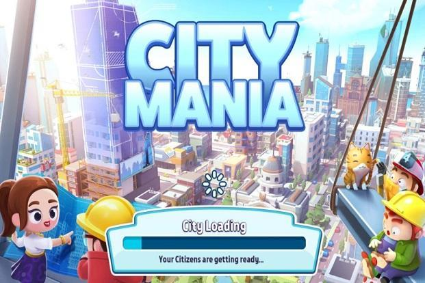 'Citimania, is a city building game like the Sim City, but looks more funky and colourful.