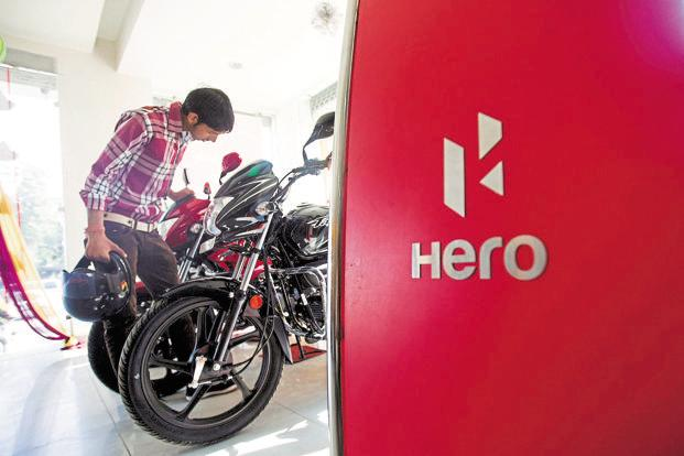 Last month, Hero MotoCorp dispatched 5,91,306 units of two-wheelers, 3.49% down from 6,12,739 units in the corresponding month last year. Photo: Bloomberg