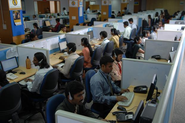 The hiring trends as India's mid-tier IT companies highlights a situation created by a perfect storm of tough business conditions and increasing automation. Photo: Hemant Mishra/Mint