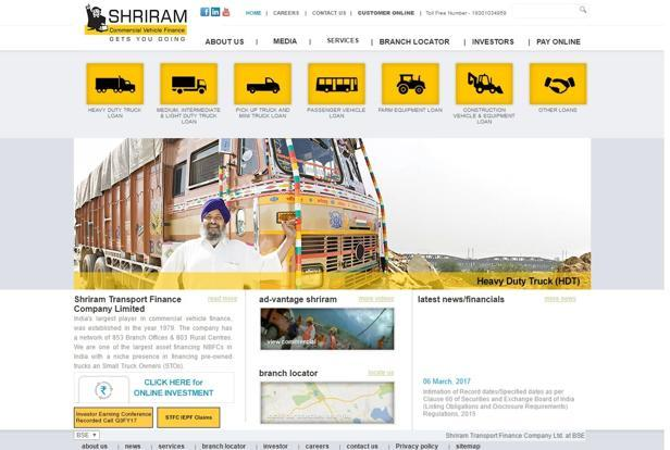 Shriram Transport Finance's net profit dropped to about Rs150 crore from over Rs300 crore each in the first three quarters of financial year 2017.