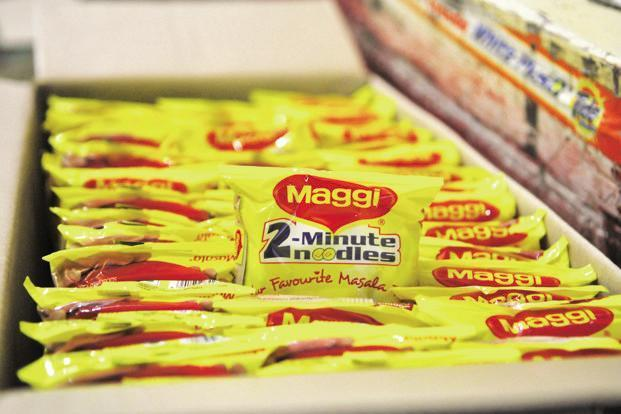 This is the first time the local arm of the Swiss packaged food company Nestle SA. is launching products with local flavours. Photo: Hindustan Times