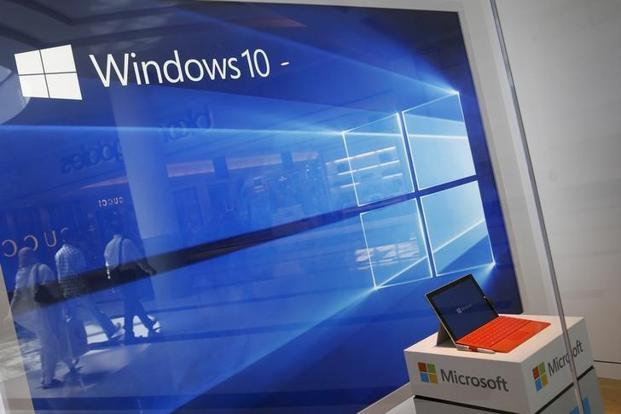 A new power throttling feature is expected to be rolled out with a Windows 10 update set to come out later this year—it will reduce battery consumption of background apps and services, and could improve battery life by more than 10% in some usage scenarios. Photo: Reuters