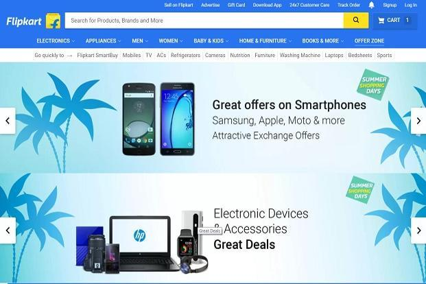 Online seller Flipkart.com's Summer Shopping Days sale offering discounts, and exchange offers on smartphones, laptops, wearables,  is from 2 to 4 May.
